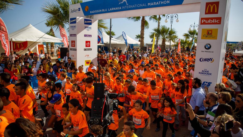 Ολοκληρώθηκε με μεγάλη  οργανωτική επιτυχία και τεράστια συμμετοχή ο 1ος Radisson Blu Διεθνής Μαραθώνιος Λάρνακας