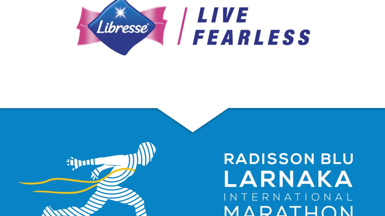 Живи свободно с Libresse и беги на втором международном Radisson Blu Larnaka марафоне