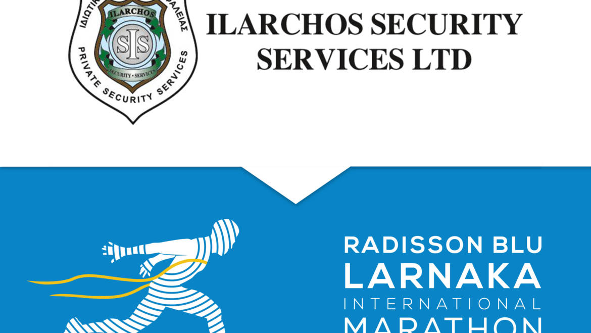 Ilarchos Security Services in charge of runners' safety in Radisson Blu Larnaka International Marathon