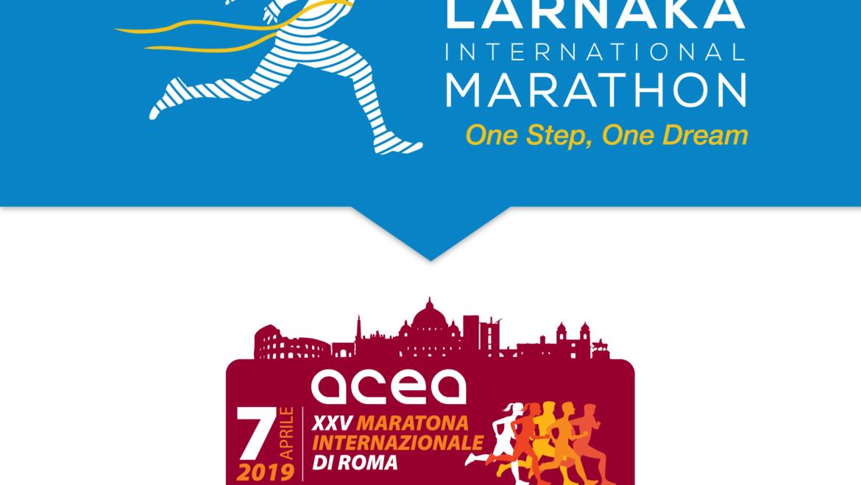 Radisson Blu Larnaka International Marathon is the official partner of Rome International Marathon