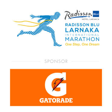 GATORADE GIVES MOTIVATION FOR ACTION TO THE RUNNERS OF THE RADISSON BLU LARNAKA INTERNATIONAL MARATHON.