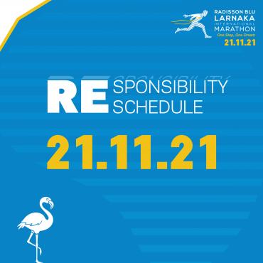 The 4th Radisson Blu Larnaka International Marathon will take place in 2021