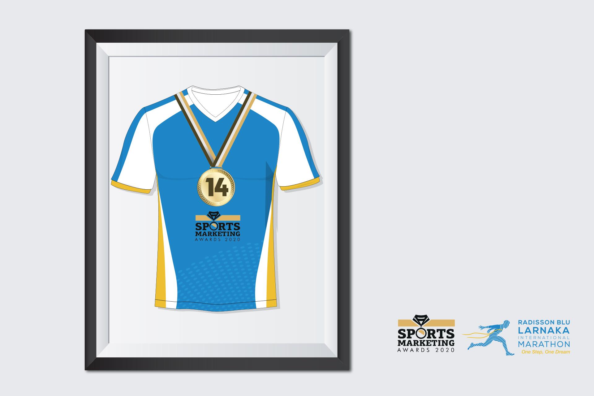 14 awards for the Radisson Blu Larnaka International Marathon at the Sports Marketing Awards 2020